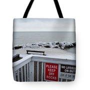 Welcome Polar Bear Club Tote Bag