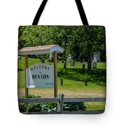 Welcome Sign? Tote Bag