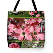 Welcome Spring Collage Tote Bag
