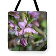 Welcome Spring Flowers Tote Bag