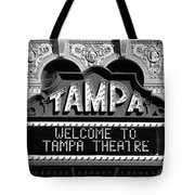 Welcome Tampa Tote Bag