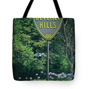 Welcome To Beverly Hills Tote Bag