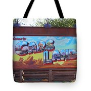 Welcome To Cars Land Tote Bag