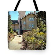 Welcome To Hereford Inlet Lighthouse Tote Bag