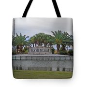 Welcome To Jekyll Island Tote Bag