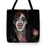 Welcome To My Horror House Tote Bag