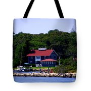 Welcome To Oak Bluffs Tote Bag