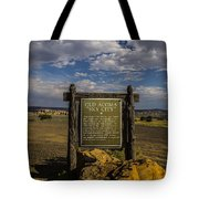 Welcome To Old Acoma Tote Bag