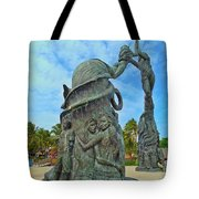 Welcome To Playa Del Carmen Mexico Tote Bag