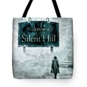 Welcome To Silent Hill Tote Bag