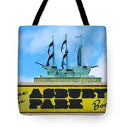 Welcome To The Asbury Park Boardwalk Tote Bag