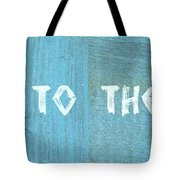 Welcome To The Cottage Tote Bag