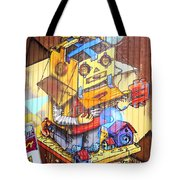 Welcome To The Gallery Tote Bag