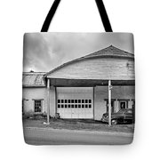 Welcome To The Twilight Zone Bw Tote Bag