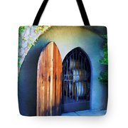 Welcome To The Winery Tote Bag