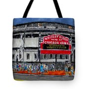 Welcome To Wrigley Field Tote Bag