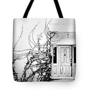 Welcome Vines Tote Bag