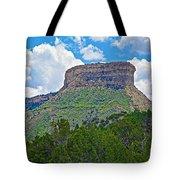 Welcoming Mesa To Mesa Verde National Park-colorado- Tote Bag