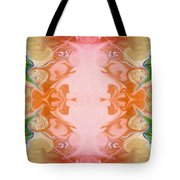 Welcoming New Life Abstract Healing Artwork By Omaste Witkowski Tote Bag