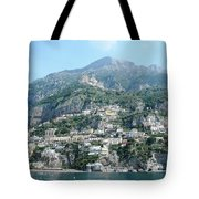 Welcoming Positano Tote Bag