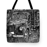 Well Drilling Truck Tote Bag