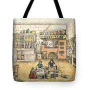 Well Stocked Rustic Kitchen Tote Bag