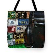 Well Traveled Door Tote Bag