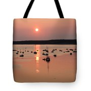 Wellfleet Harbor Sunset Tote Bag