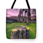 Welsh Abbey  Tote Bag by Adrian Evans