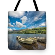 Welsh Boats Tote Bag