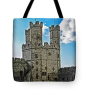 Welsh Castle Tote Bag