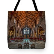 Welsh Cathedral  Tote Bag