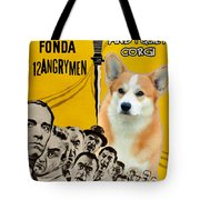 Welsh Corgi Pembroke Art Canvas Print - 12 Angry Men Movie Poster Tote Bag