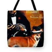 Welsh Corgi Pembroke Art Canvas Print - The Godfather Movie Poster Tote Bag