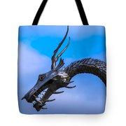 Welsh Dragon Head Tote Bag