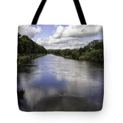 Welsh River Scene Tote Bag