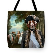 Welsh Springer Spaniel Art Canvas Print Tote Bag