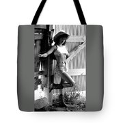 Wendy Barn Door-2 Tote Bag
