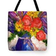 Wendy's Floral Tote Bag