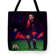 Wesley Sneijder  Tote Bag by Paul Meijering