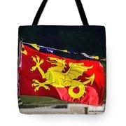 Wessex Wyvern Flag Tote Bag