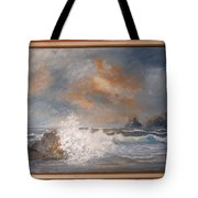 West Coast Seascape Tote Bag