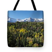 West End Of The Sneffles Tote Bag