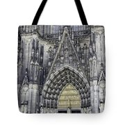 West Entrance Door Cologne Cathedral Tote Bag