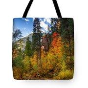 West Fork Wonders  Tote Bag by Saija  Lehtonen
