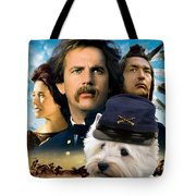 West Highland White Terrier Art Canvas Print - Dances With Wolves Movie Poster Tote Bag