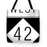 West Nc 42 Tote Bag