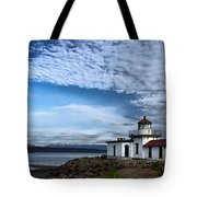 West Point Lighthouse II Tote Bag