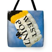 West Point Sky Diver Tote Bag