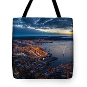 West Seattle Water Taxi Tote Bag